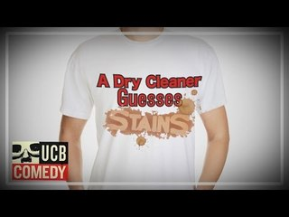 This dry cleaner is AWESOME at guessing stains! | Worthless Digital Trash