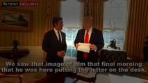 """President Donald Trump Discusses The """"Beautiful"""" Letter Barack Obama Wrote For Him!"""