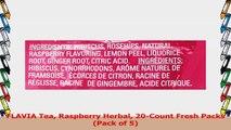 FLAVIA Tea Raspberry Herbal 20Count Fresh Packs Pack of 5 a967ef29