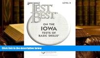 PDF Test Best ITBS: Test Workbook  Grade 2 (Level 8) Trial Ebook