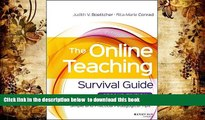 FREE [DOWNLOAD] The Online Teaching Survival Guide: Simple and Practical Pedagogical Tips Judith