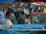 Rep. Tiangco at Atty. Bautista na kaalyado ni VP Binay, pinaalis sa pagdinig dahil hindi imbitado