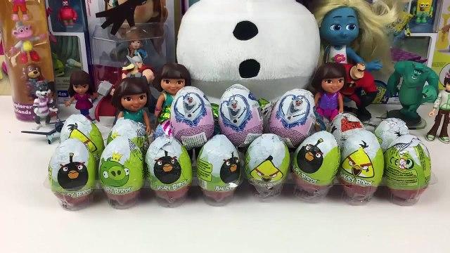 Surprise Eggs Disney Frozen Surprise Eggs - Kinder Surprise Eggs Olaf Frozen