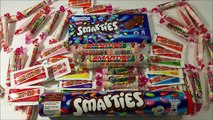 A LOT of SMARTIES CANDY Smarties VS Smarties / A lot of Colors