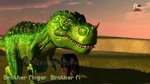 Динозавры 3D Finger Семья Дети детские английском языке анимированные Детские песни
