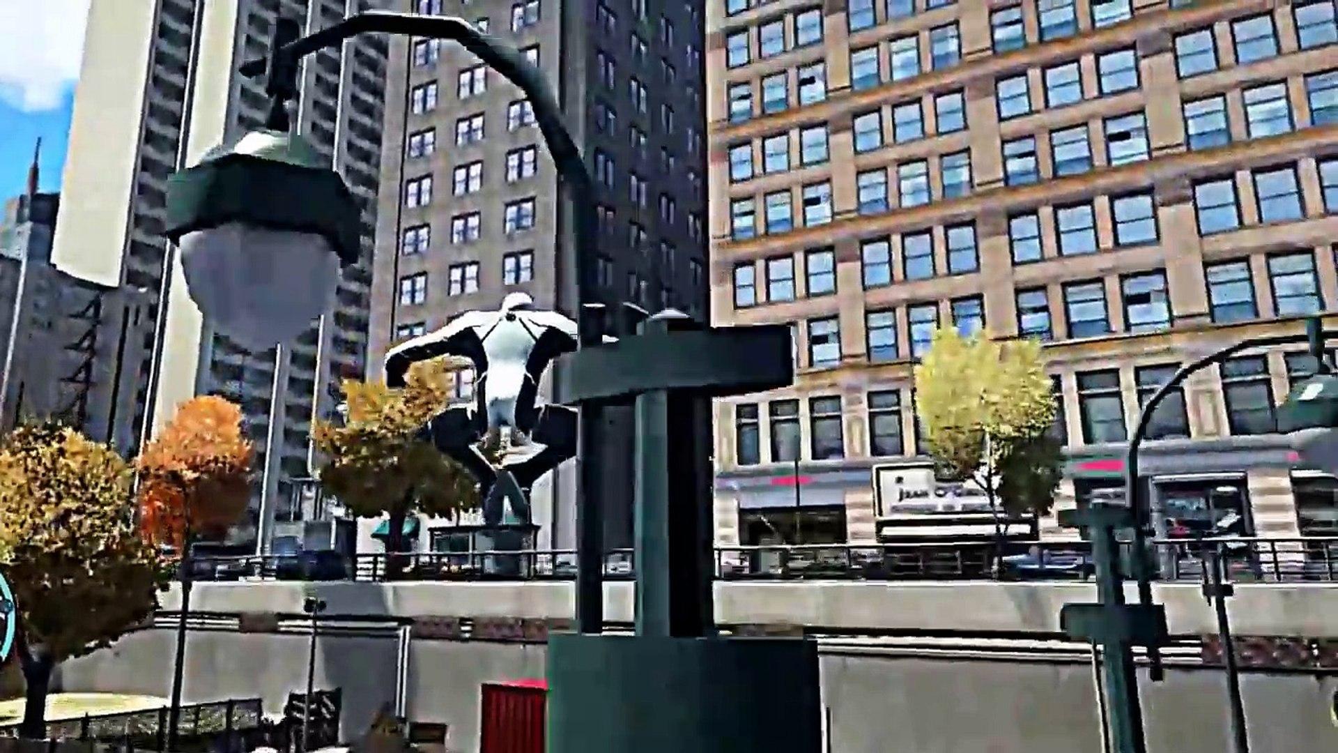 gta iv gameplay : spiderman vs venom epic battle   Gta IV Spiderman Mod Walkthrough !