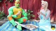 Frozen Elsa Joker Maleficent Pink Spidergirl Prank TOYS! Superhero w/ Spiderman SUPERHERO SPELL!
