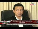 SONA: 4 na paksa sa Binay-Trillanes debate, inilatag ng KBP