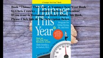 Download Thinner This Year: A Younger Next Year Book ebook PDF
