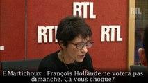 """François Hollande ne votera pas au second tour : """"Ça ne me choque pas"""" estime Benoît Hamon"""