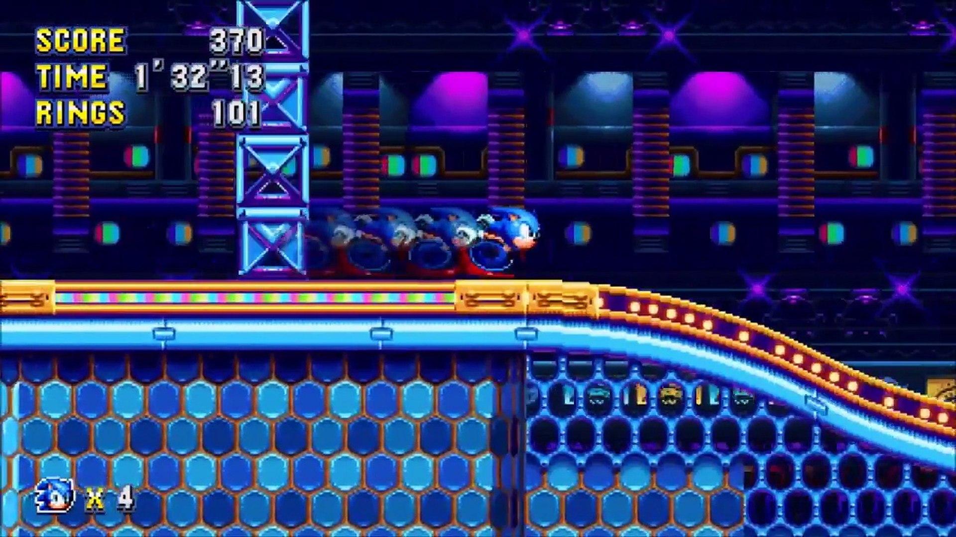 Sonic Mania Nintendo Switch Announcement Trailer
