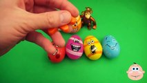 Kinder Surprise Egg Learn A Word! Spelling Food Lesson F Teaching Letters Opening Eggs & Toys