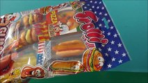 Sweets Mix unboxing, Trolli Sweets, Trolli Mix, Fast Food Sweets