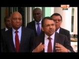 Primature/ Le 1er Ministre a reçu tour à tour les  responsables du groupe OLAM ,UBA et la BAD .
