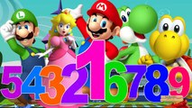 Learn 123 Song By Super Mario Cartoon | 123 Numbers Songs For Children | 123 Nursery Rhymes