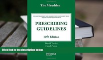 PDF  The Maudsley Prescribing Guidelines, Tenth Edition (Taylor, The Maudsley Prescribing
