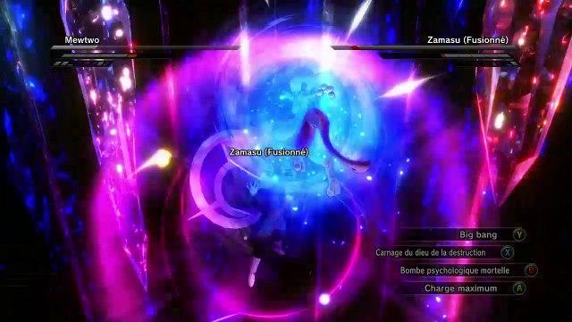 XV2 Mods - Mewtwo vs Zamasu Fusion (Halo)
