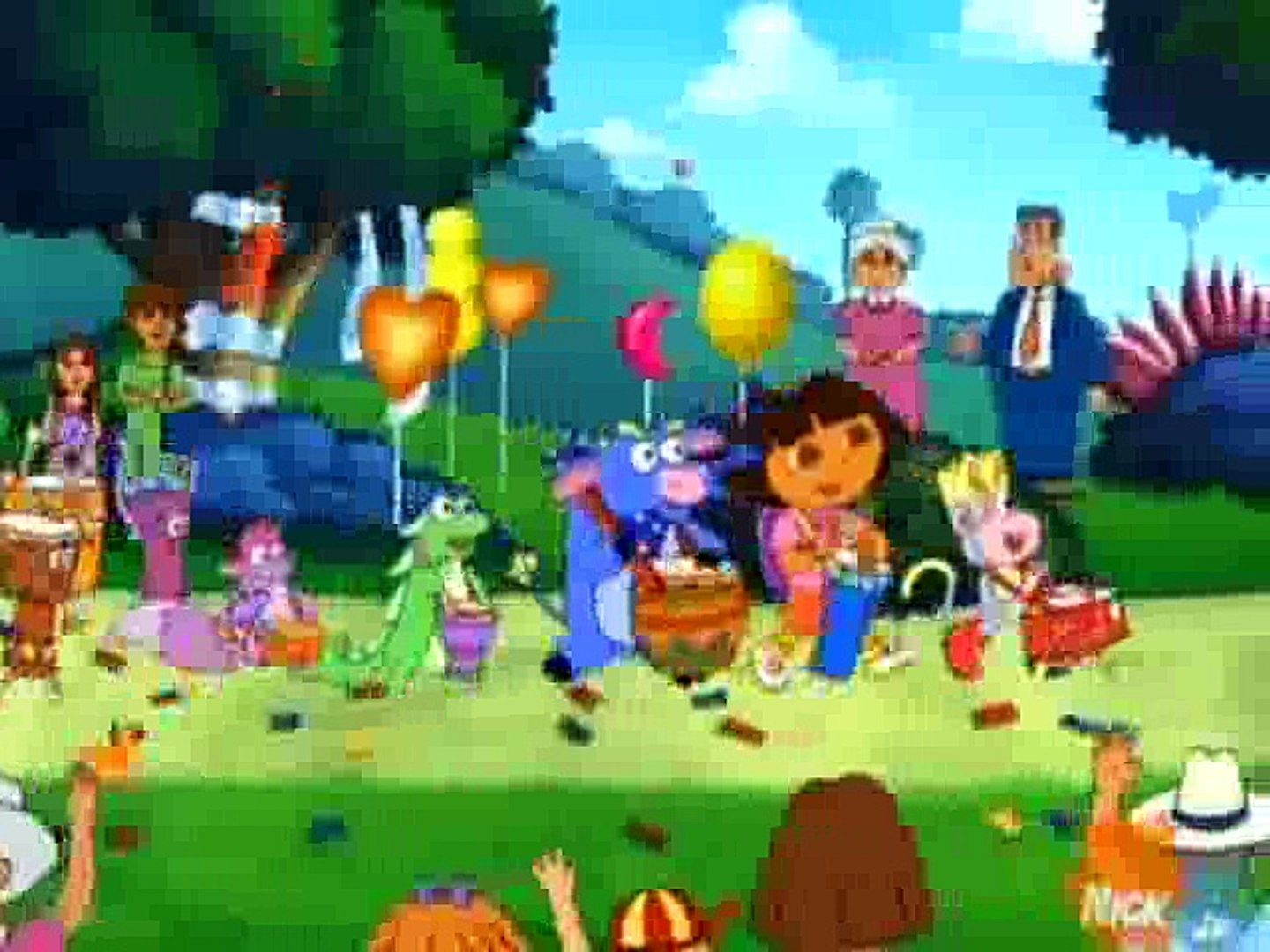 Dora the Explorer 313 - Boots' Special Day