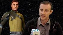 Star Wars Rebels - Entrevista a Claudio Serrano, la voz de Kanan. Star Wars Rebels Lair XLV