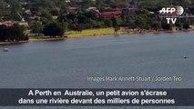 Australie: un avion s'écrase dans une rivière à Perth