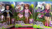 Moxie Girlz POOPSY PETS! AVERY KELLAN LEXA! Pets Eat Food & POOP! FUN