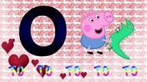 Peppa Pig Las Vocales - A E I O U - Videos Educativos - Aprender Español - cancion infantil