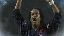 PSG celebra presença de Ronaldinho Gaúcho relembrando melhores momentos do craque