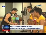 Saksi: PBA legend Samboy Lim, nag-collapse sa exhibition game