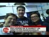 24 Oras: PBA legend na si Samboy Lim, hindi pa rin nagkakamalay