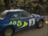 Colin mcrae - cam car - rally port 98 - subaru impreza wrc