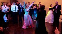 Belly Dance Show at a Wedding  in private party  on Drum Solo Performance by Cassandra Fox