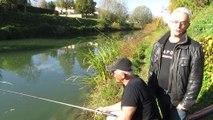 Le petit Doubs : le paradis pour les pecheurs de poissons...