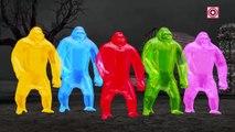 Hulk Vs Gummy King Kong Animal Fights Compilation | Gummy Gorillas Attack Hulk Superhero Fun Videos