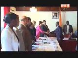 Coopération: le président de l'assemblée nationale G Soro a reçu des parlementaires canadiens