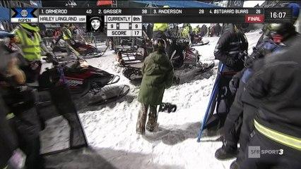 X-Games - Snowboard Big Air - Hailey Langland entre dans l'histoire des X-Games