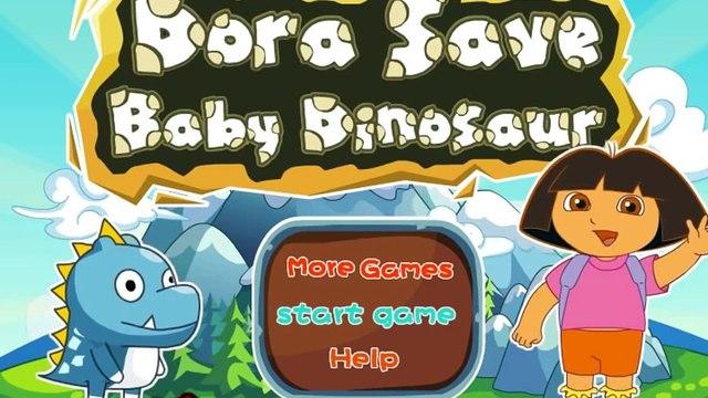 Dora Saves Baby Dinosaur - Dora the Explorer Dinosaur Game for Kids