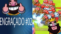 MOMENTOS MAIS ENGRAÇADOS CLASH ROYALE #02 Multiplica funny moments clash royale and fails