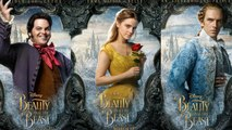 Beauty and The Beast Character Posters Released