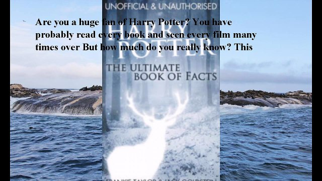 Download Harry Potter - The Ultimate Book of Facts ebook PDF