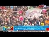 BP: CBCP: Sasakyan ni Pope Francis dito sa Pilipinas, bukas, walang aircon at hindi bullet-proof