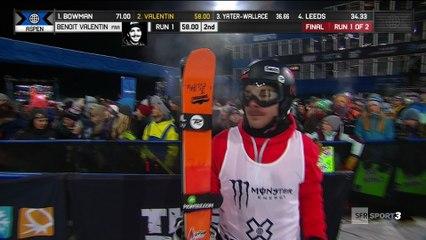 X-Games - Ski Halfpipe - L'hécatombe continue