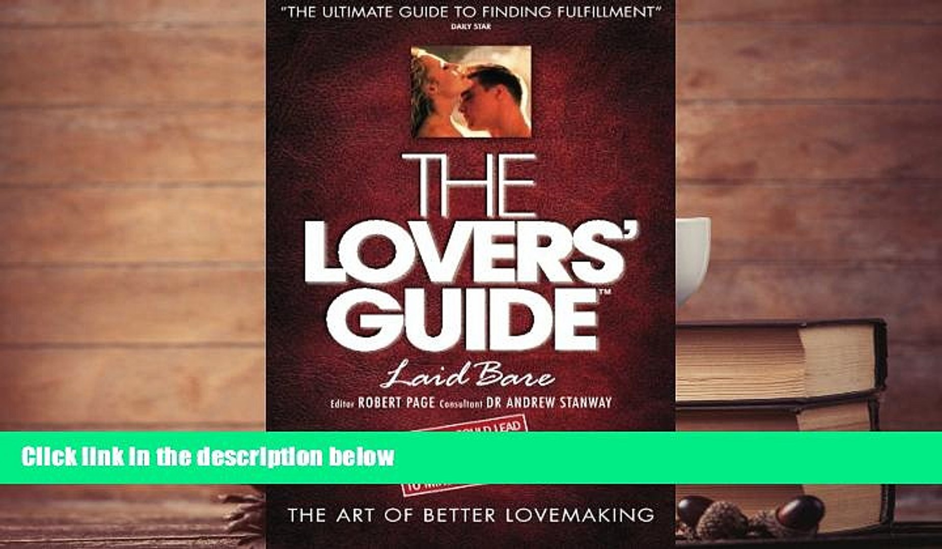 Guide to lovemaking