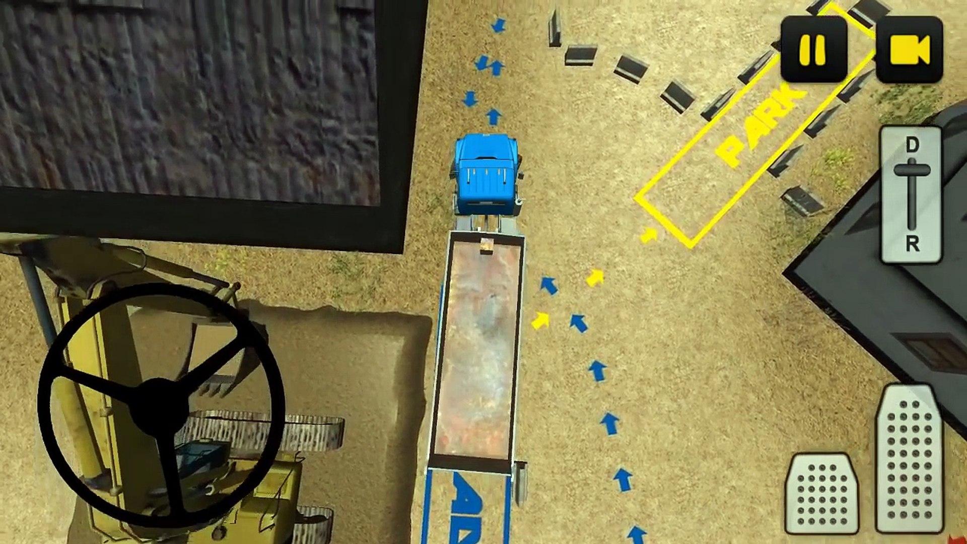 Строительство Truck 3D: Песок Android Gameplay HD