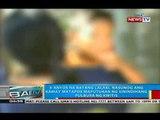 Bata sa Ilocos Norte, nasunog ang kamay matapos maputukan ng sinindihang pulbura ng kwitis