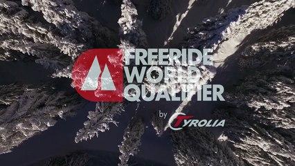 2nd place Julien Pichel - snowboard men - Verbier Freeride Week 2* #3 2017