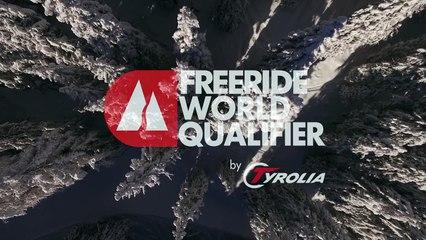2nd place Linnea Carlerback Johansson - ski women - Verbier Freeride Week 2* #3 2017