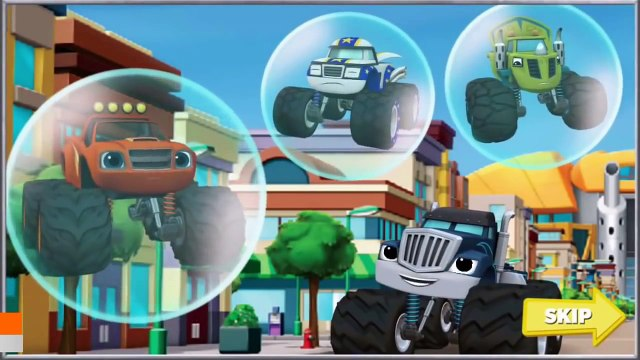 Blaze And The Monster Machines | Blaze Race to the Rescue | Nickelodeon Blaze Monster Machines
