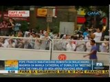 People trooping outside Apostolic Nunciature to get glimpse of Pope | Unang Hirit