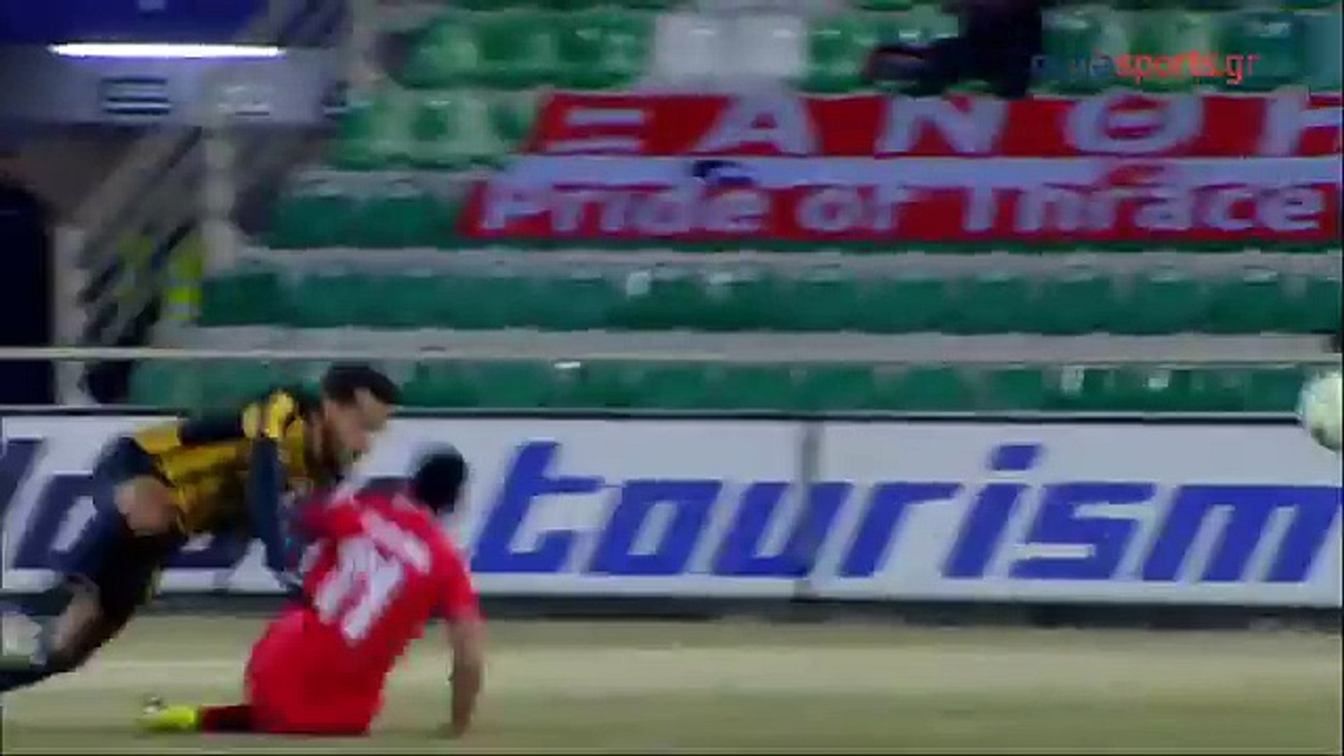 Superliga de Grecia 2016/17: J18 - Skoda Xanthi 0 - 0 AEK - (28.01.2017)