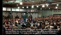 Meeting Jean Luc Mélenchon à Périgueux Primaire socialiste